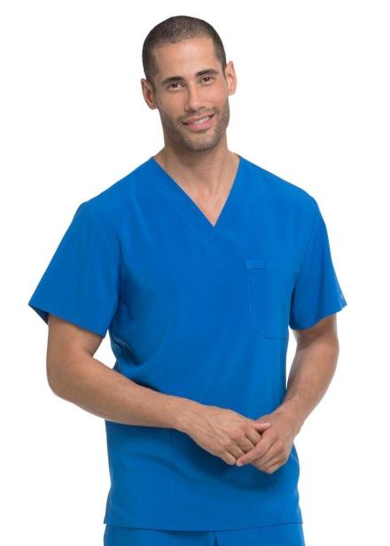 Bluza medyczna męska Essentials szafirowa