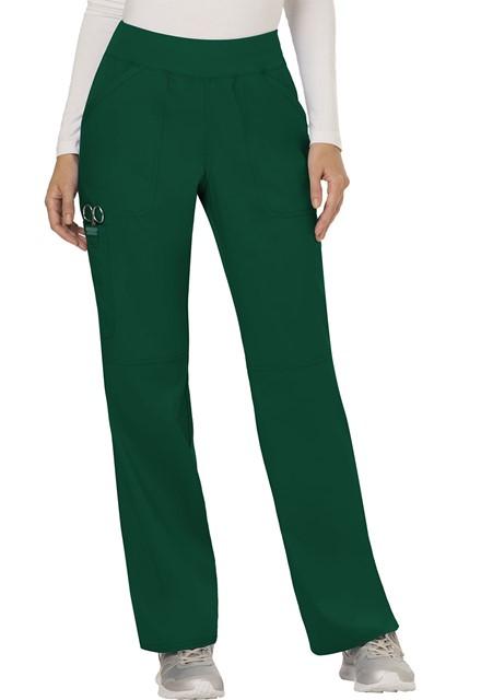 Spodnie medyczne damskie Revolution zielone