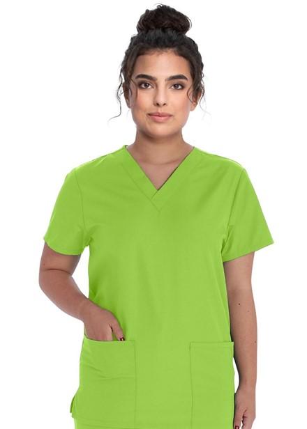 Komplet bluza/spodnie medyczny unisex limonkowy