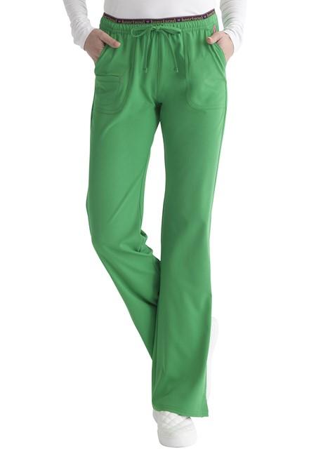 Spodnie medyczne damskie HeartSoul zielone