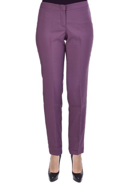 Spodnie kosmetyczne typu Slim fioletowe