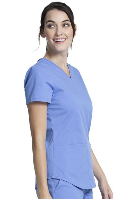 Komplet bluza/spodnie medyczny damski błękitny