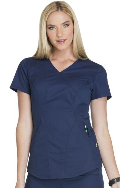 Bluza medyczna damska Luxe Sport granatowa