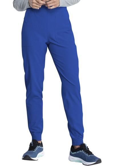 Spodnie medyczne damskie Retro szafirowe