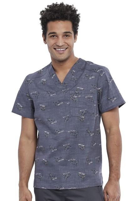 Bluza medyczna męska Rawr-some