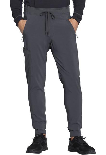 Spodnie medyczne męskie jogger grafitowe