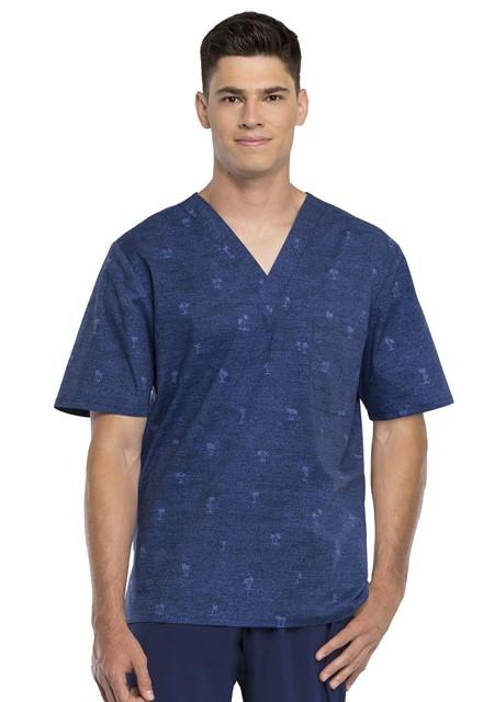 Bluza medyczna męska Palm Paradise