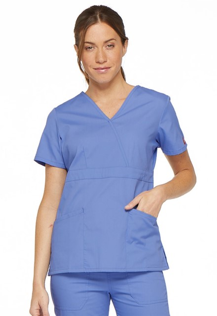 Bluza medyczna damska EDS błękitna