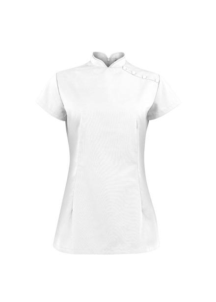 Tunika kosmetyczna damska biała