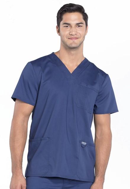 Bluza medyczna męska Revolution granatowa