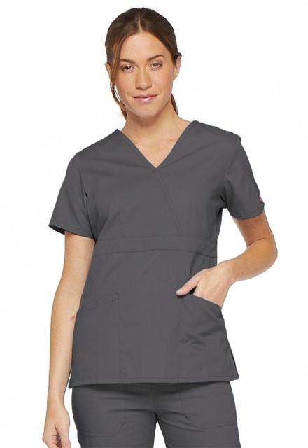 Bluza medyczna damska EDS grafitowa