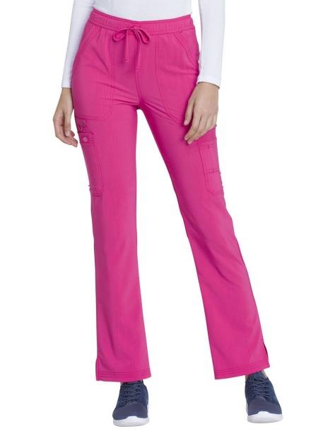 Spodnie medyczne damskie Advance różowe