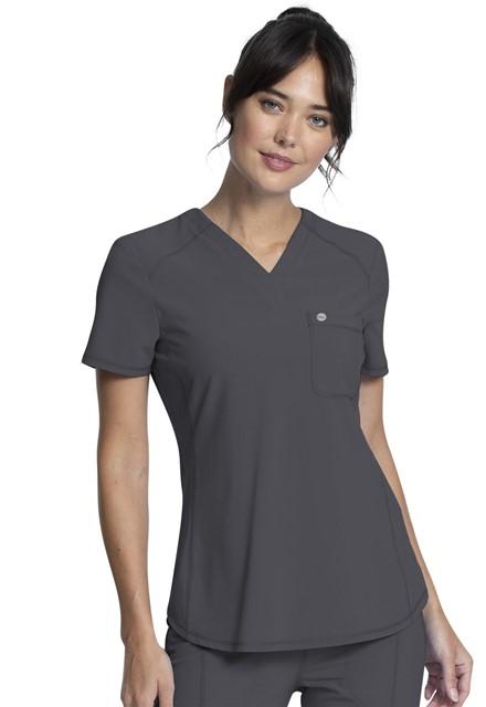 Bluza medyczna damska Infinity grafitowa