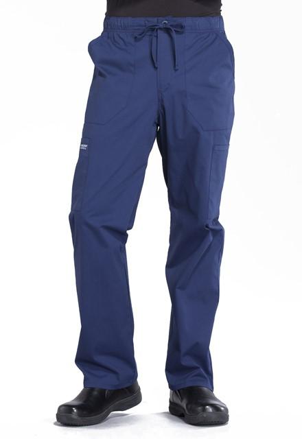 Spodnie medyczne męskie Professionals granatowe