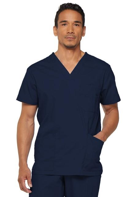 Bluza medyczna męska EDS V-neck granatowa