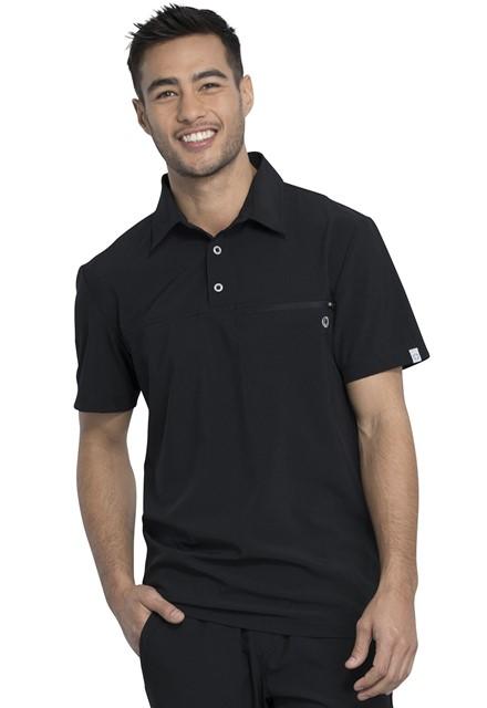 Koszulka polo męska Infinity czarna