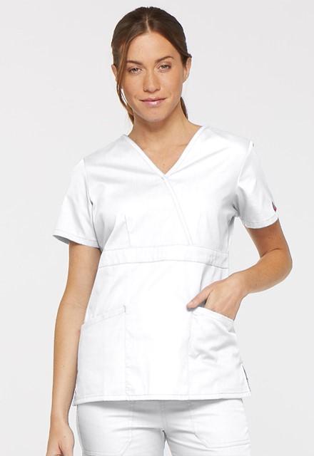 Bluza medyczna damska EDS biała