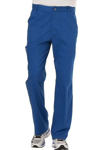 Spodnie medyczne męskie Revolution szafirowe