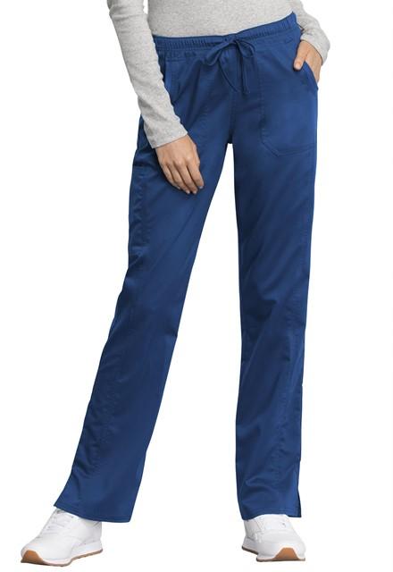 Spodnie medyczne damskie Revolution Tech szafirowe
