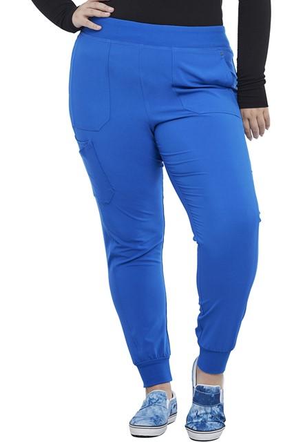 Spodnie medyczne damskie Iflex jogger szafirowe