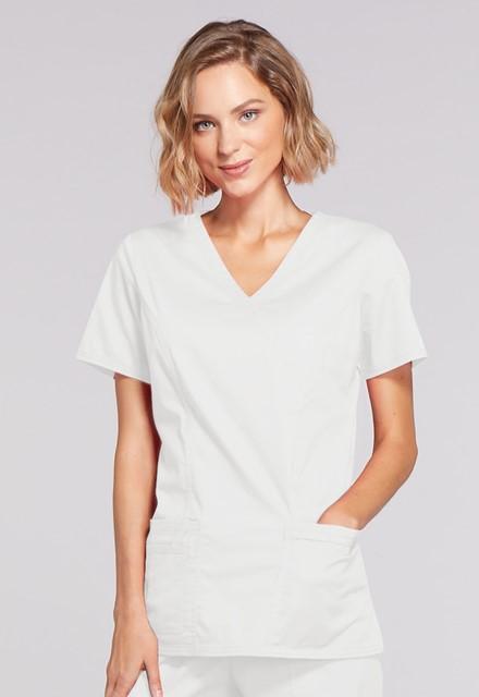 Bluza medyczna damska Core Stretch biała