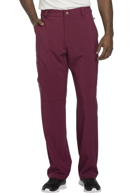 Spodnie medyczne męskie antybakteryjne wino
