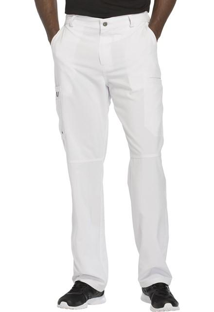 Spodnie medyczne męskie antybakteryjne białe