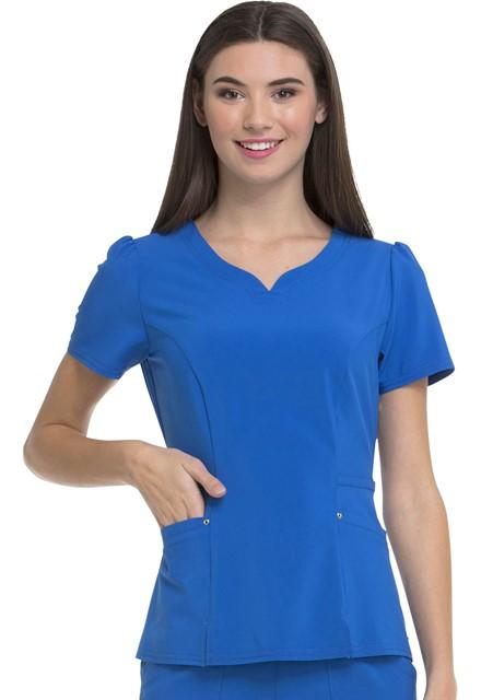 Bluza medyczna damska HeartSoul szafirowa