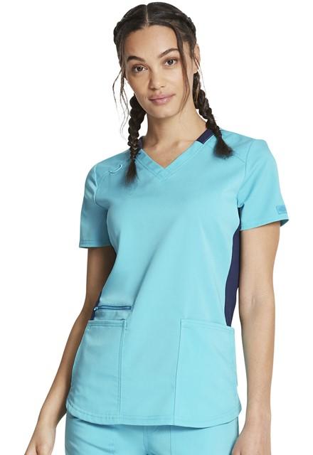 Bluza medyczna damska Dickies Balance turkusowa