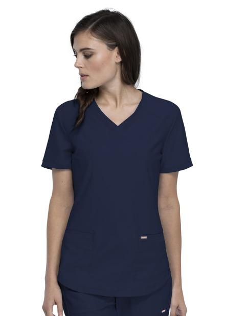 Bluza medyczna damska Form granatowa