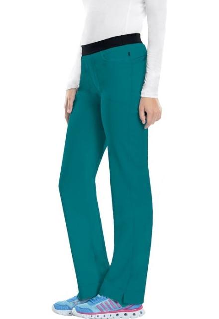 Spodnie medyczne antybakteryjne teal blue