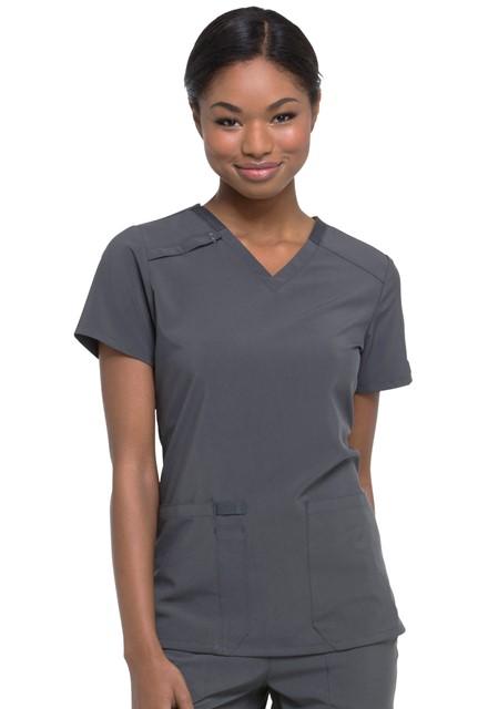 Bluza medyczna damska Essentials grafitowa