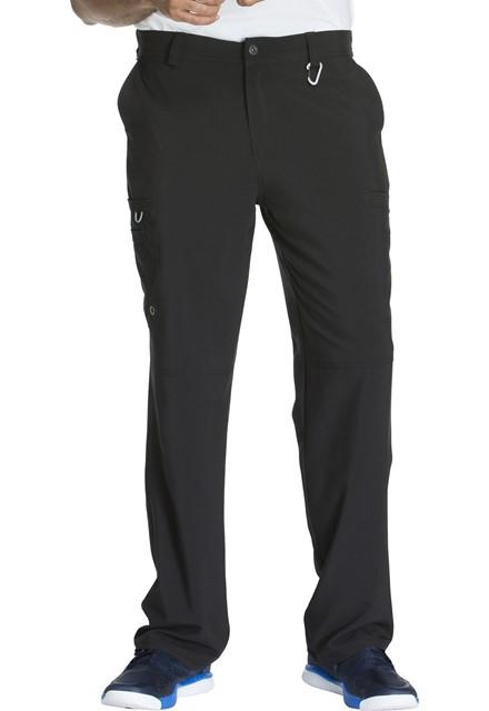 Spodnie medyczne męskie antybakteryjne czarne