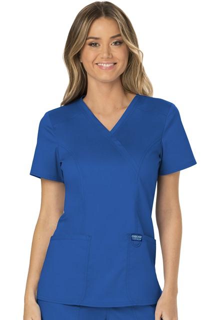 Bluza medyczna damska Revolution szafirowa