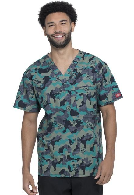 Bluza medyczna męska Crosshatch Camo