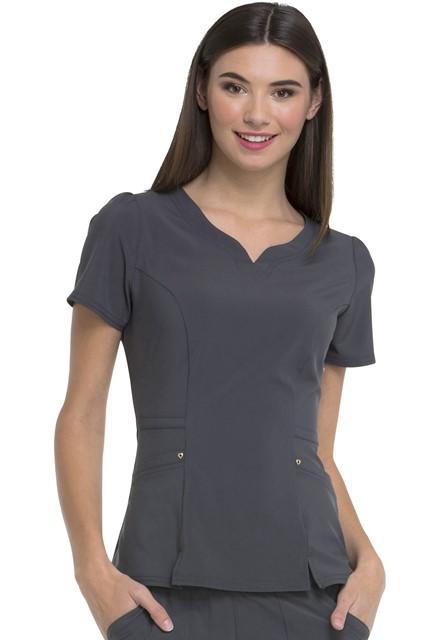 Bluza medyczna damska HeartSoul grafitowa