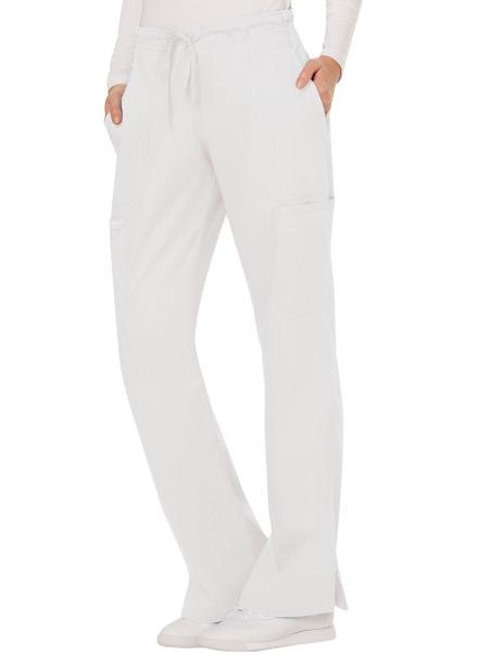 Spodnie medyczne damskie Revolution białe