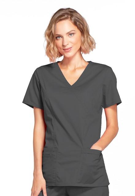Bluza medyczna damska Core Stretch grafitowa