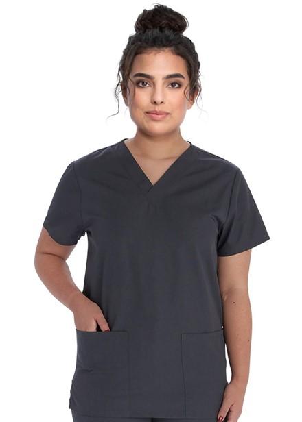 Komplet bluza/spodnie medyczny unisex grafitowy