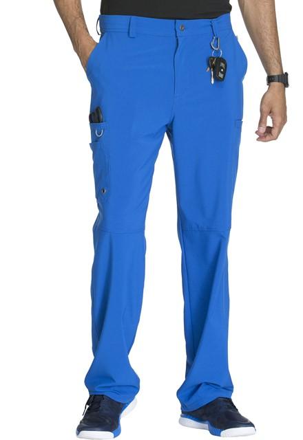 Spodnie medyczne męskie antybakteryjne szafirowe