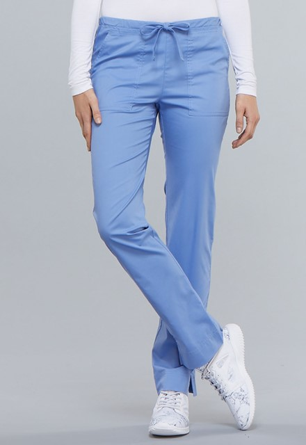 Spodnie medyczne damskie Core Stretch błękitne