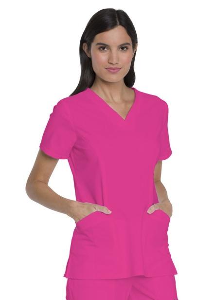 Bluza medyczna damska Advance różowa