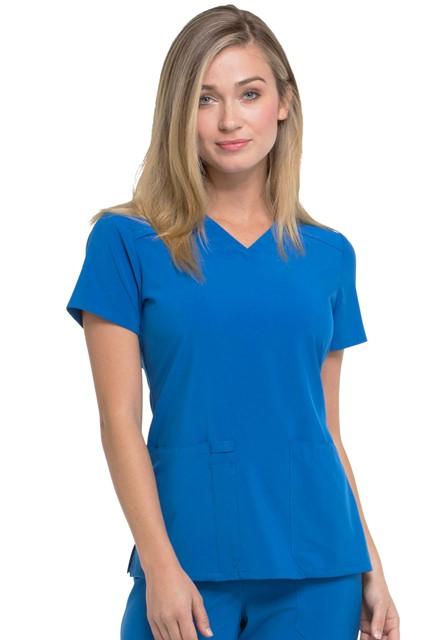 Bluza medyczna damska Essentials szafirowa
