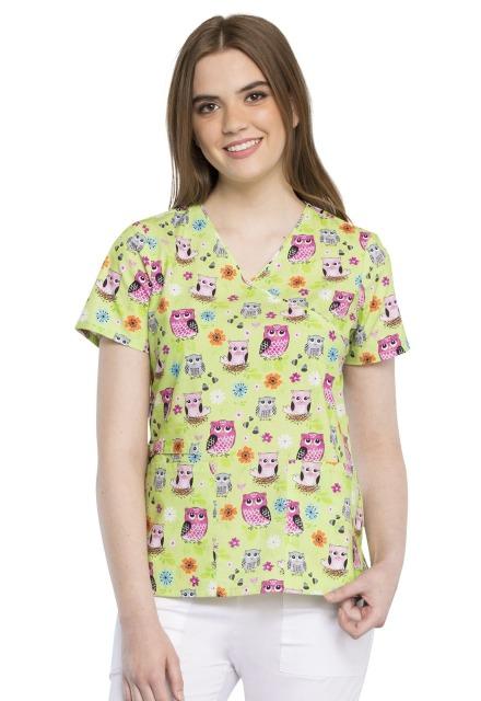 Bluza medyczna damska Feather Folks