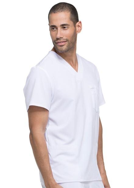 Bluza medyczna męska Essentials biała