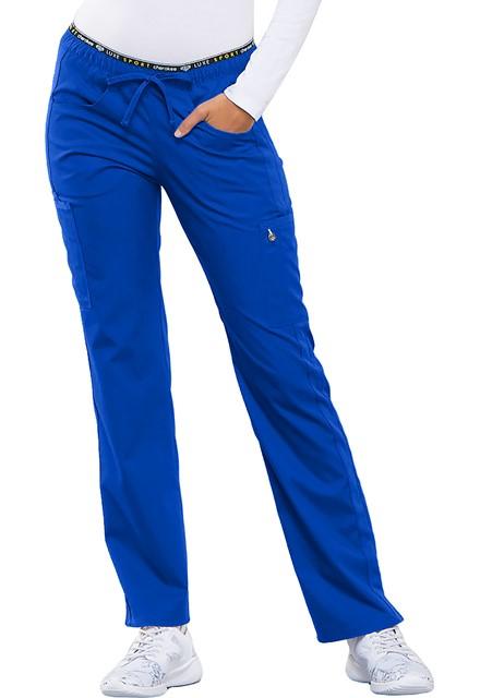 Spodnie medyczne damskie Luxe Sport szafirowe