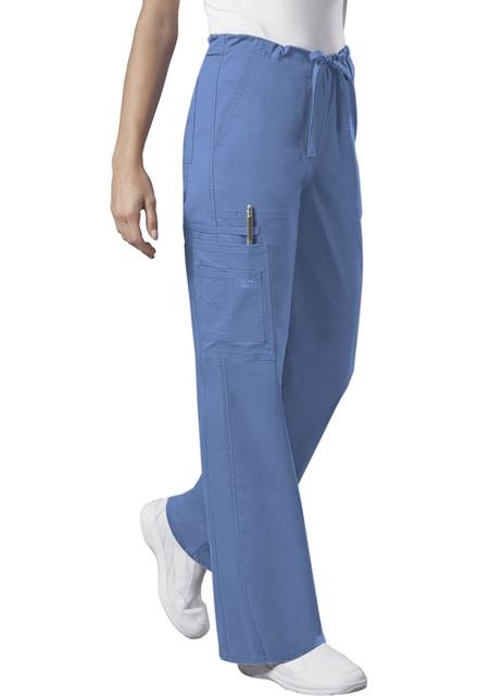 Spodnie medyczne unisex błękitne