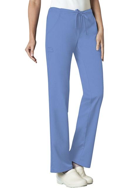 Spodnie medyczne damskie Luxe błękitne