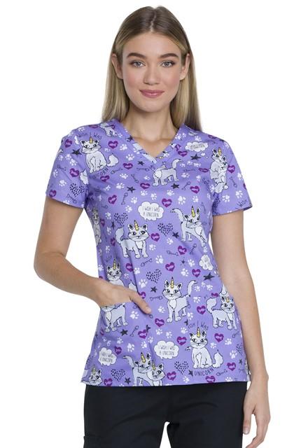 Bluza medyczna damska Wish I Was A Unicorn