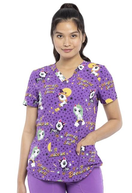 Bluza medyczna damska Boo-nicorn Magic